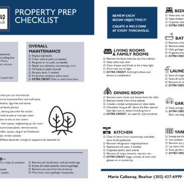 Comprehensive Property Prep Checklist!